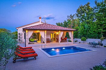 Villa LeDa — Belavići, Barban, East Coast of Istria (Villa with pool) - Swimming Pool