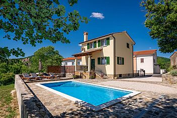 Villa Daus — Grobnik, Pićan, Central Istria (Villa with pool) - Swimming Pool