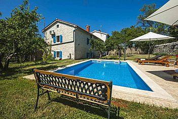Casa Atilio & Ana — Smolici, Višnjan (Vila sa bazenom) - Eksterijer