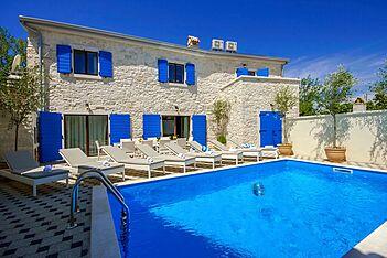Villa Eni — Krunčići, Sveti Lovreč (Villa mit Pool) - Schwimmbad