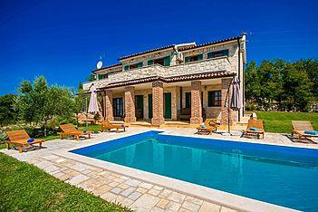 Villa Mila — Strpačići, Višnjan (Vila sa bazenom) - Bazen
