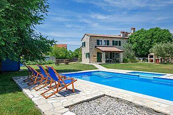 Soricevi Dvori — Barat, Kanfanar (Villa with pool) - Exterier