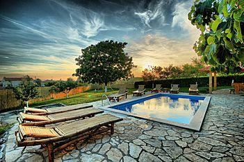 Villa Blaz — Bašići, Tinjan (Vila sa bazenom) - Eksterijer