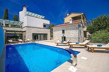 Villa Kina — Valtura, Ližnjan, Pula-Medulin (Vila sa bazenom) - Bazen