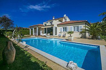 Villa Rossana — Gedići, Tar-Vabriga (Villa mit Pool) - Schwimmbad