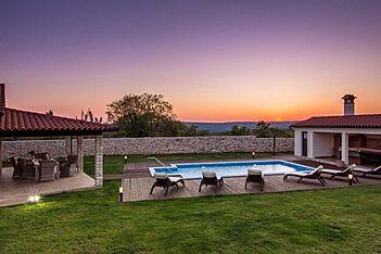Villa Anica — Markoci, Labin, Rabac-Labin (Villa mit Pool) - Außenseite