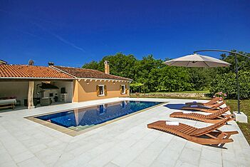 Villa Kovač — Banovci, Sv. Petar u Šumi, Istrien Binnenland (Villa mit Pool) - Schwimmbad