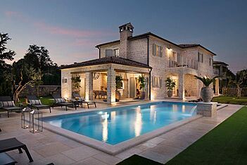 Villa Elena — Ladići, Kanfanar (Villa mit Pool) - Außenseite