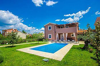 Villa Mariella — Kaštelir, Kaštelir-Labinci (Villa mit Pool) - Schwimmbad