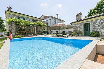 Haus Maria — Markoci, Labin, Rabac-Labin (Holiday home) - Swimming Pool