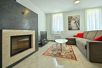 Berli 2 — Funtana, Funtana, Vrsar-Funtana (Apartment) - Living Room