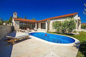 Villa Vignola — Kavran, Marčana, Ostküste Istriens (Villa mit Pool) - Außenseite