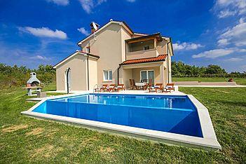 Villa Vale — Pilati, Motovun (Villa mit Pool) - Schwimmbad