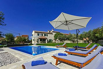 Villa Ulika — Barat, Kanfanar (Vila sa bazenom) - Bazen