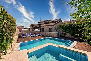 Villa Magnolia — Vižinada, Vižinada (Vila sa bazenom) - Bazen
