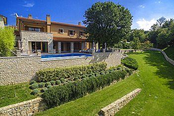 Villa Vlastelini — Labin, Labin, Rabac-Labin (Vila sa bazenom) - Eksterijer