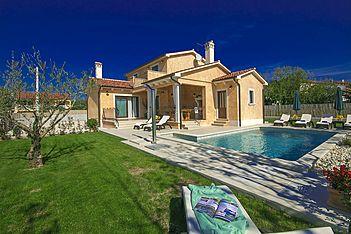 Villa Rotonda, Flengi, Vrsar, Vrsar-Funtana (Vila sa bazenom)