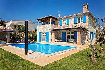 Villa Roberta — Višnjan, Višnjan (Villa mit Pool) - Außenseite