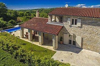 Villa Samanta — Momjan, Buje, Umag-Novigrad (Villa mit Pool) - Außenseite