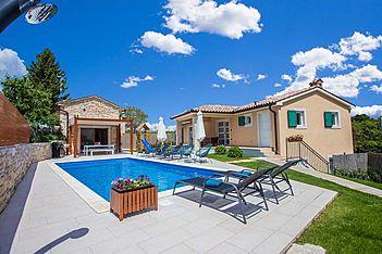 Villa Mathilda — Milotski Brijeg, Žminj (Villa with pool) - Exterier