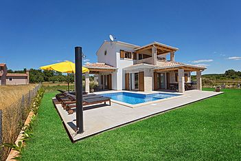 Villa Fortuna — Funtana, Funtana, Vrsar-Funtana (Villa mit Pool) - Außenseite