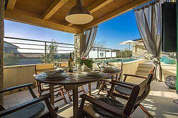 Villa Valencan 2b — Betiga, Vodnjan (Vila sa bazenom) - Terasa/balkon
