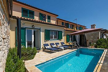 Villa Valencan 2c — Betiga, Vodnjan (Vila sa bazenom) - Terasa/balkon