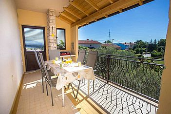 App Largo — Sveta Nedelja, Rabac, Rabac-Labin (Apartman) - Terasa/balkon