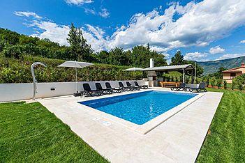 Villa Maggiore — Kršan, Kršan, Rabac-Labin (Villa with pool) - Swimming Pool