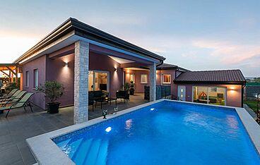 Villa Elorea — Nova Vas B, Brtonigla, Umag-Novigrad (Vila sa bazenom) - Bazen