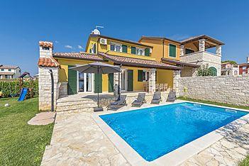 Villa Marija Villanova — Nova Vas B, Brtonigla, Umag-Novigrad (Villa mit Pool) - Schwimmbad
