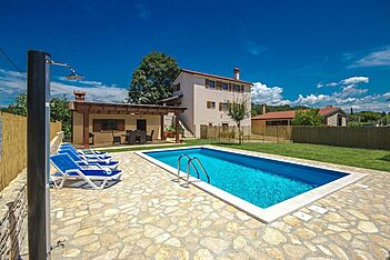 Casa Bastiani — Marušići, Buje, Umag-Novigrad (Villa with pool) - Swimming Pool