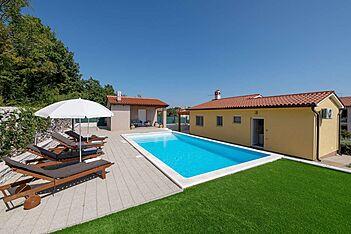 Villa Asteria — Labin, Labin, Rabac-Labin (Vila sa bazenom) - Bazen