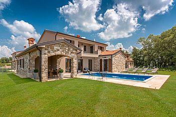 Villa Brih II — Pilati, Motovun (Vila sa bazenom) - Eksterijer