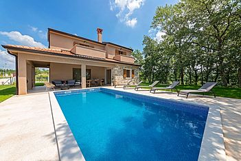 Villa Brih III — Pilati, Motovun (Villa with pool) - Swimming Pool