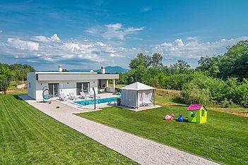 Villa Romantica — Županići, Labin, Rabac-Labin (Vila sa bazenom) - Eksterijer