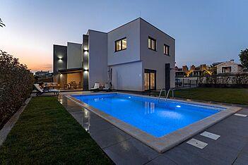 Villa Ena — Kaštelir, Kaštelir-Labinci (Vila sa bazenom) - Bazen