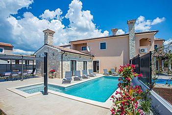 Villa HD — Kaštelir, Kaštelir-Labinci (Vila sa bazenom) - Bazen