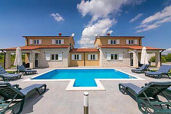 Villa Istria Queen — Zartinj, Labin, Rabac-Labin (Villa mit Pool) - Schwimmbad