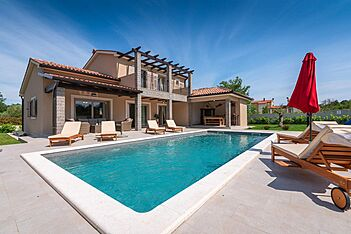 Villa Mercedes — Zartinj, Labin, Rabac-Labin (Vila sa bazenom) - Bazen