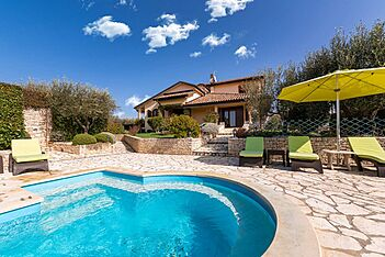Villa Patty — Kaštel, Buje, Umag-Novigrad (Villa with pool) - Swimming Pool