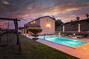 Villa Vista Visinada — Vižinada, Vižinada (Vila sa bazenom) - Bazen