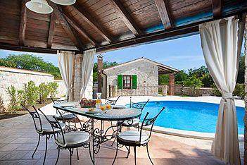 Villa Marianne — Mofardini, Tinjan (Villa mit Pool) - Schwimmbad