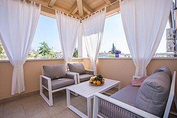 App Dany — Dračevac, Poreč (Apartman) - Terasa/balkon
