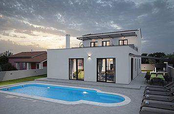 Villa PerLe — Škatari, Pula, Pula-Medulin (Villa mit Pool) - Schwimmbad