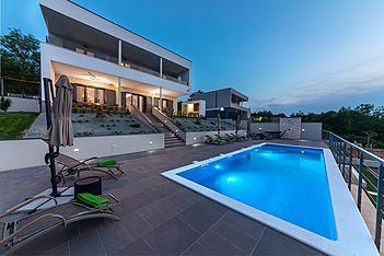 Villa Althea — Županići, Labin, Rabac-Labin (Villa mit Pool) - Schwimmbad