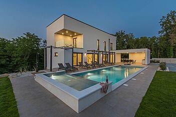 Villa Green Light — Šušnjići, Poreč (Vila sa bazenom) - Bazen