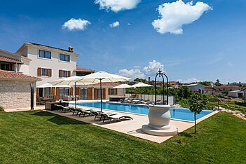 San Lorenzo — Nova Vas B, Brtonigla, Umag-Novigrad (Villa mit Pool) - Außenseite