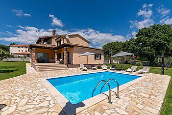 Villa Pianta — Šušnjići, Poreč (Villa mit Pool) - Außenseite