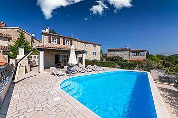 Villa Ivana Brkac — Brkač, Motovun (Villa with pool) - Swimming Pool